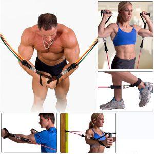 Benzi elastice fitness, gimnastica si recuperare medicala